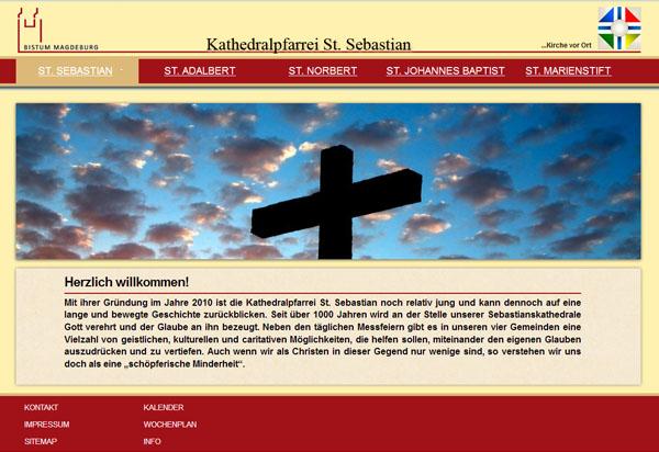 Bistum Magdeburg, Kathedralpfarrei St. Sebastian Magdeburg