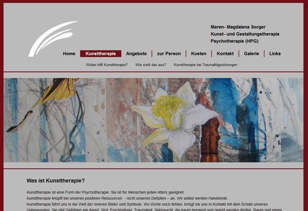Kunsttherapie Sorger
