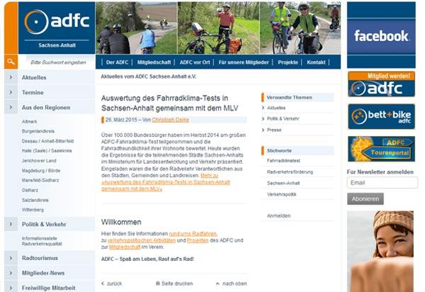 ADFC Sachsen Anhalt